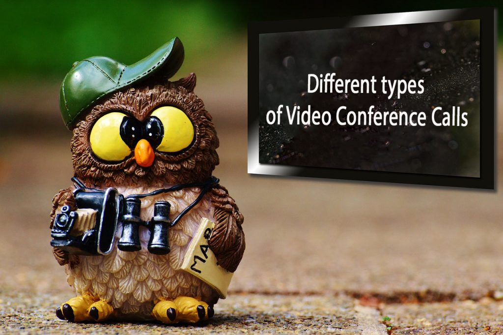 Different types of Video Conference Calls