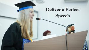Tips On How to Deliver a Perfect Speech